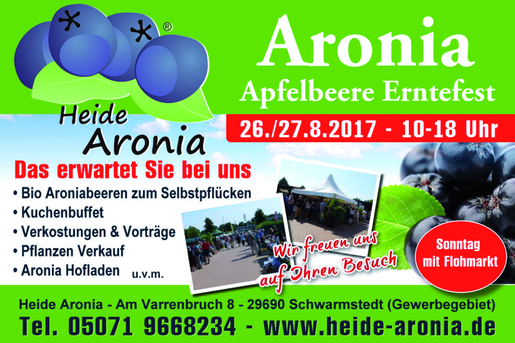 Aronia Erntefest 2017
